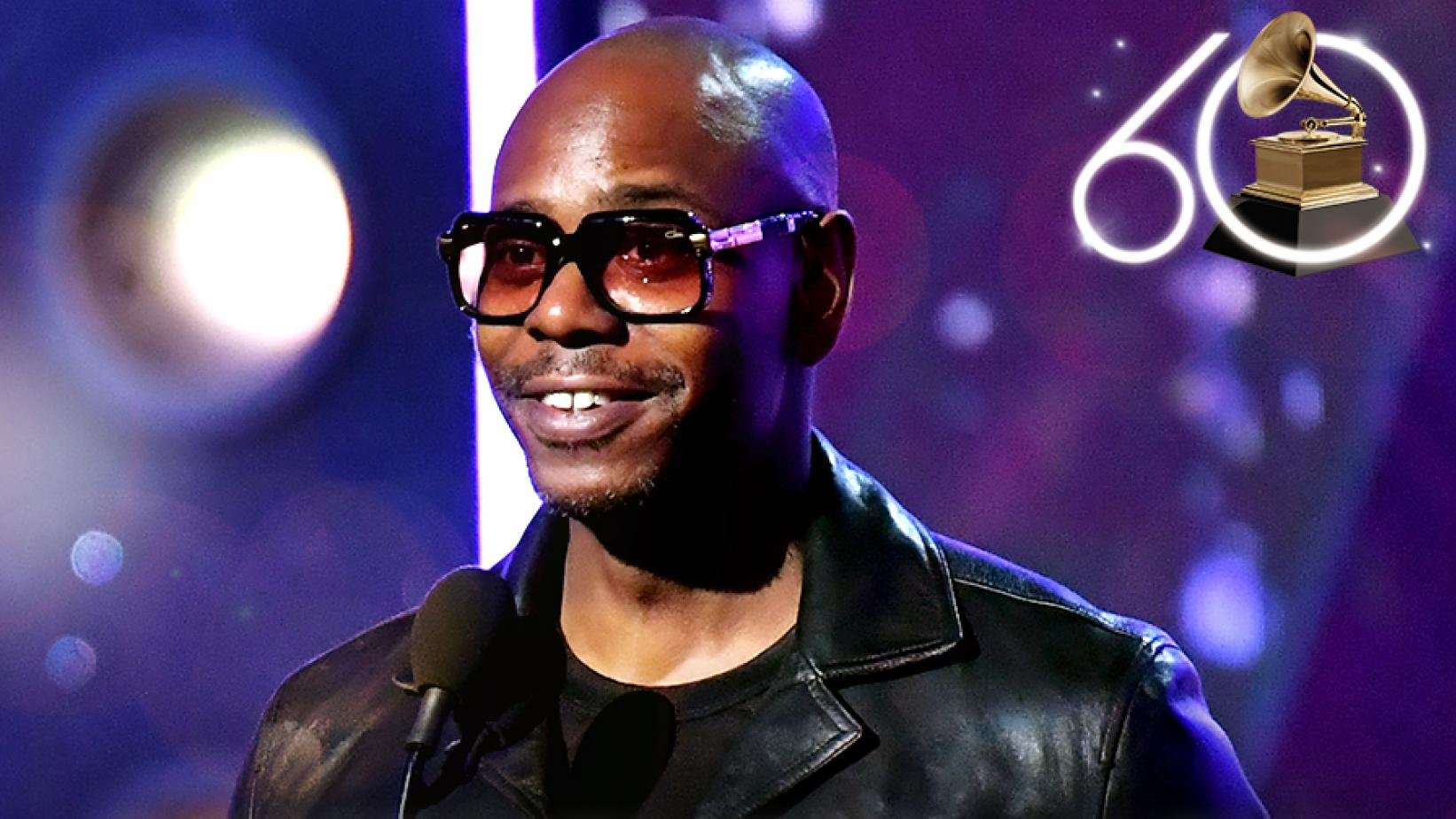 Dave Chappelle at the 60th GRAMMY Awards