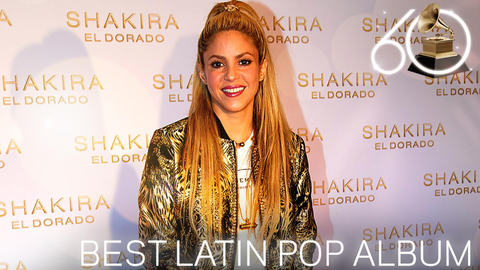 Shakira Wins Best Latin Pop Album