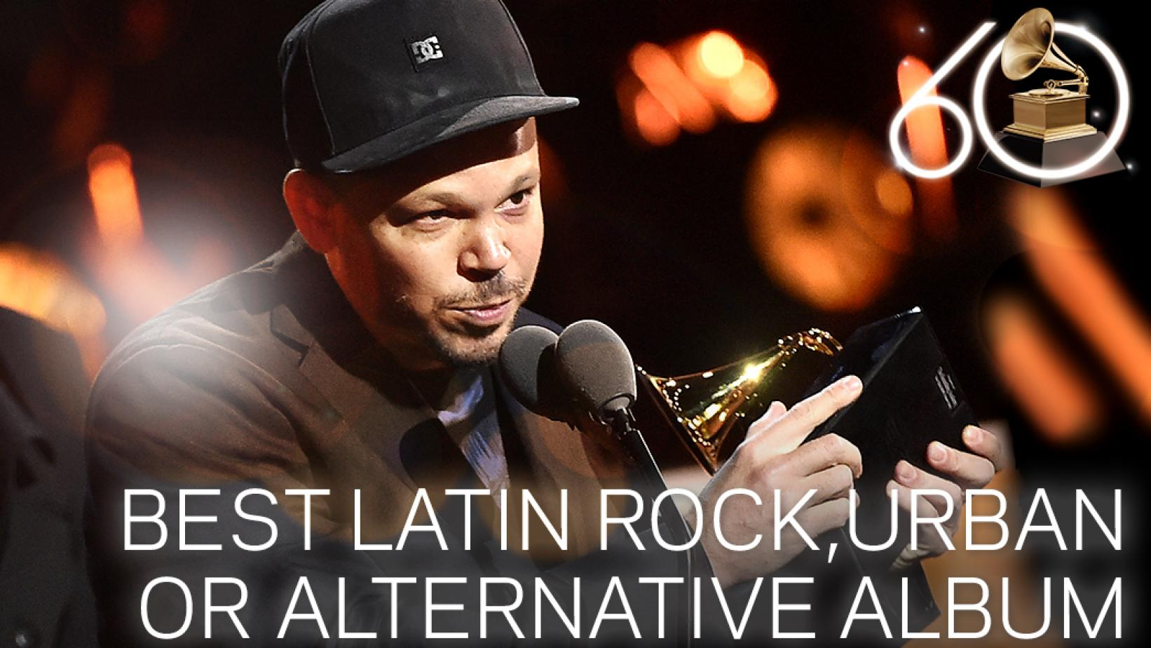 Residente Wins Best Latin Rock Urban or Alternative Album