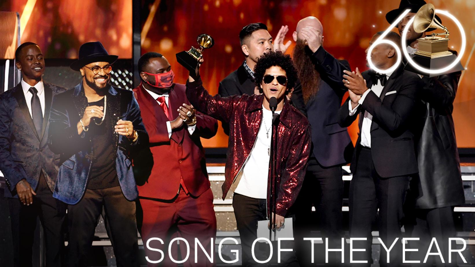 Bruno Mars Wins Song Of The Year