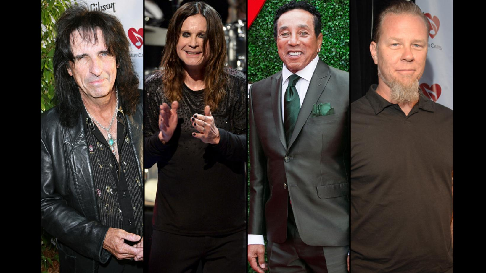 MusiCares MAP Fund Stevie Ray Vaughan Award recipients