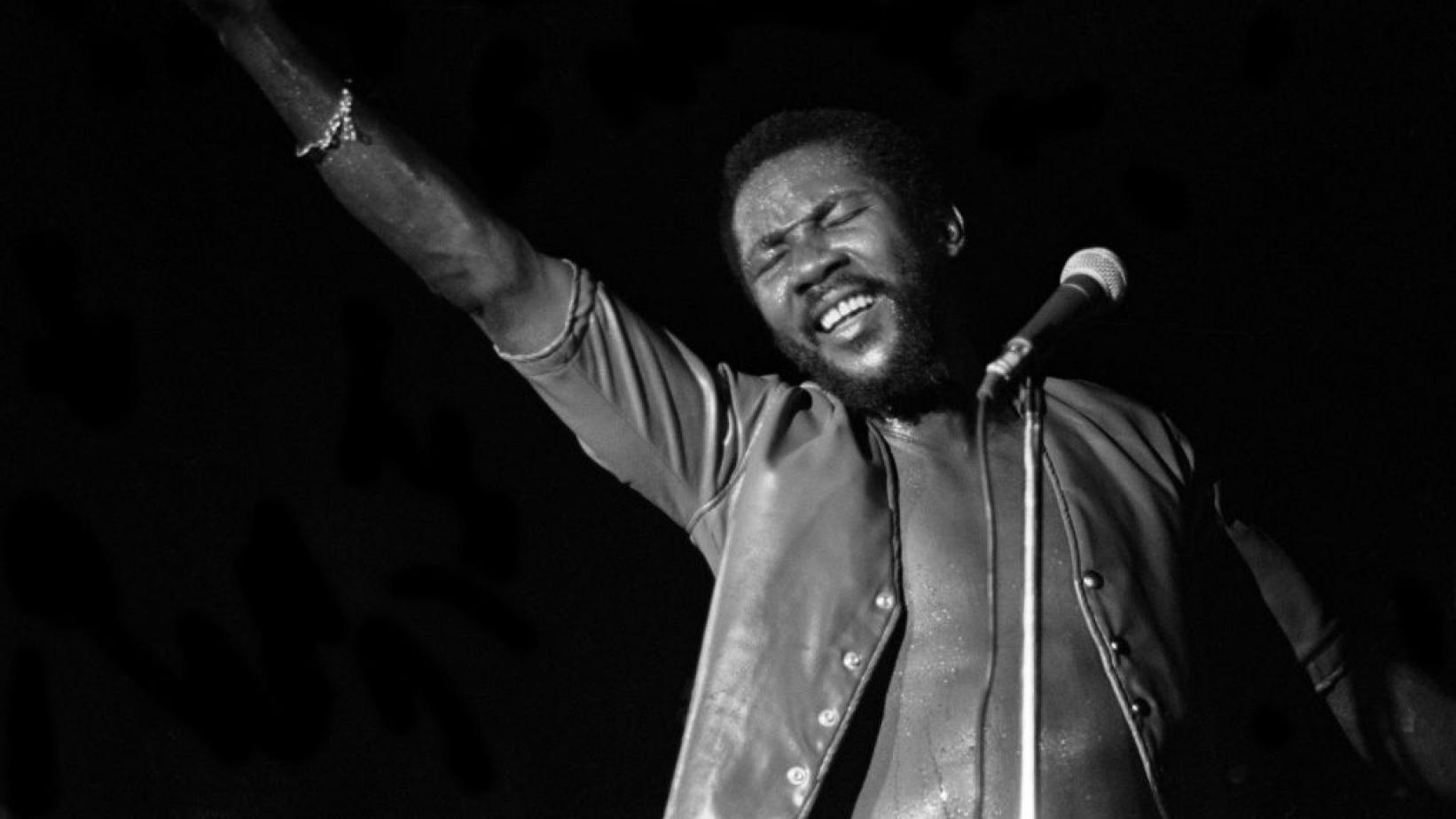 Toots Hibbert of Toots And The Maytals performs in London in 1983