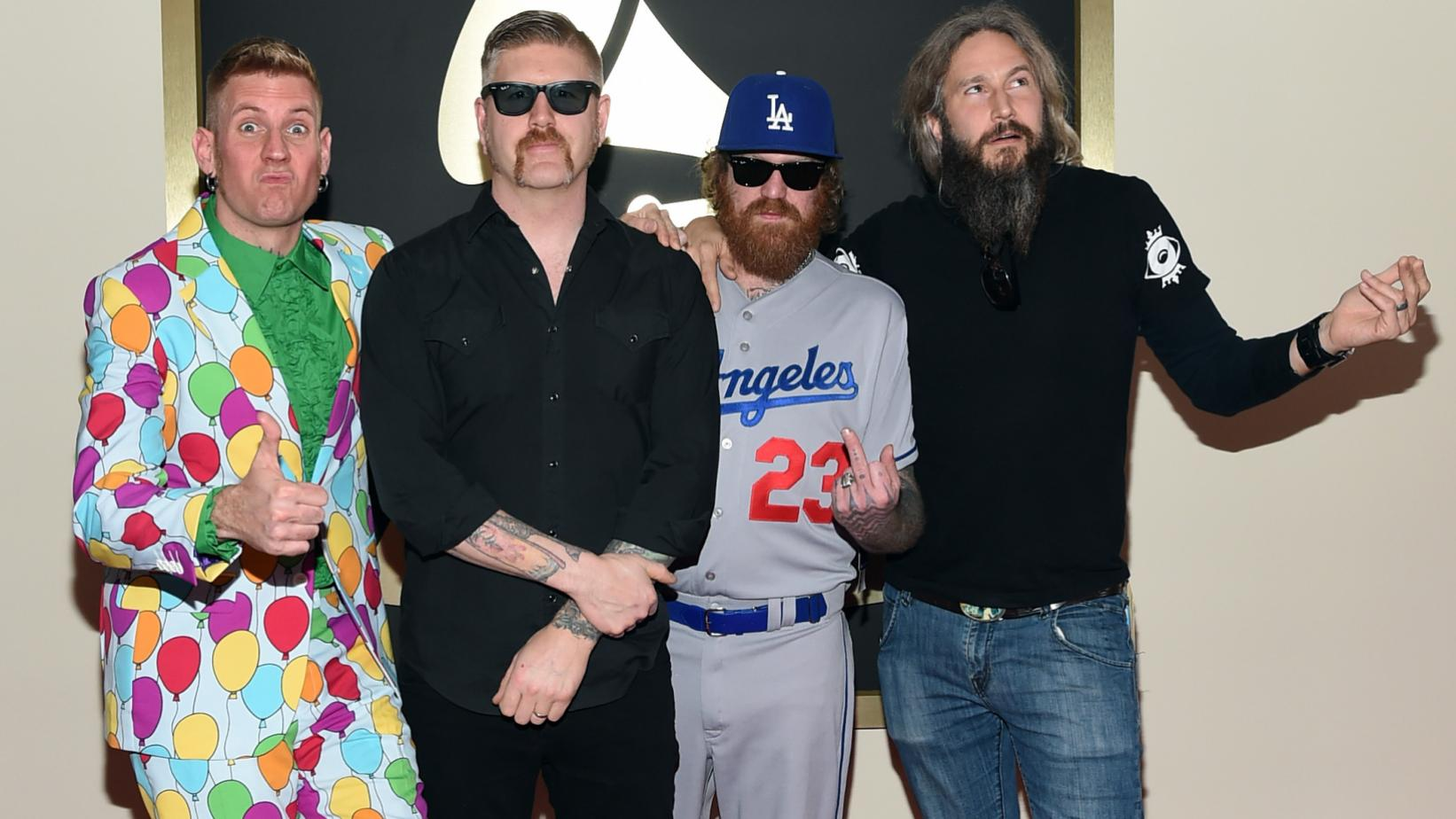 Mastodon at the 57th GRAMMYs in 2015