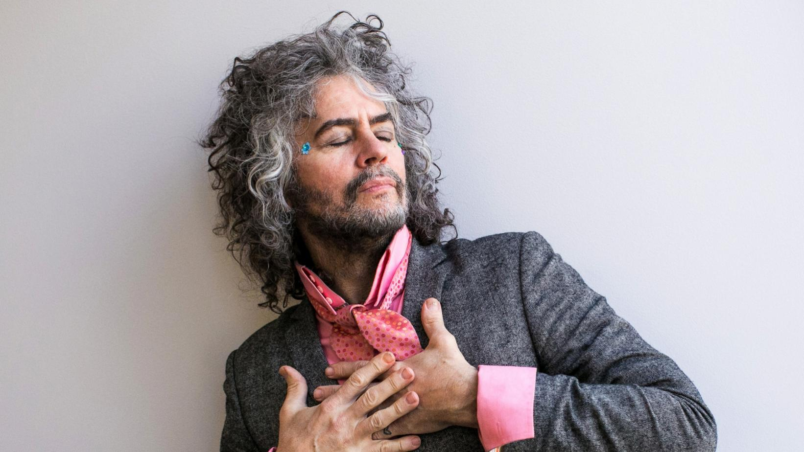 Wayne Coyne photographed in 2017