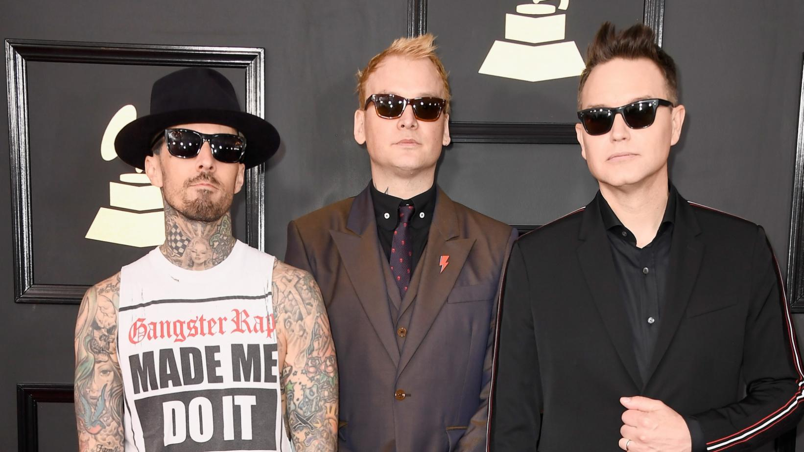 Blink-182 at the 59th GRAMMY Awards