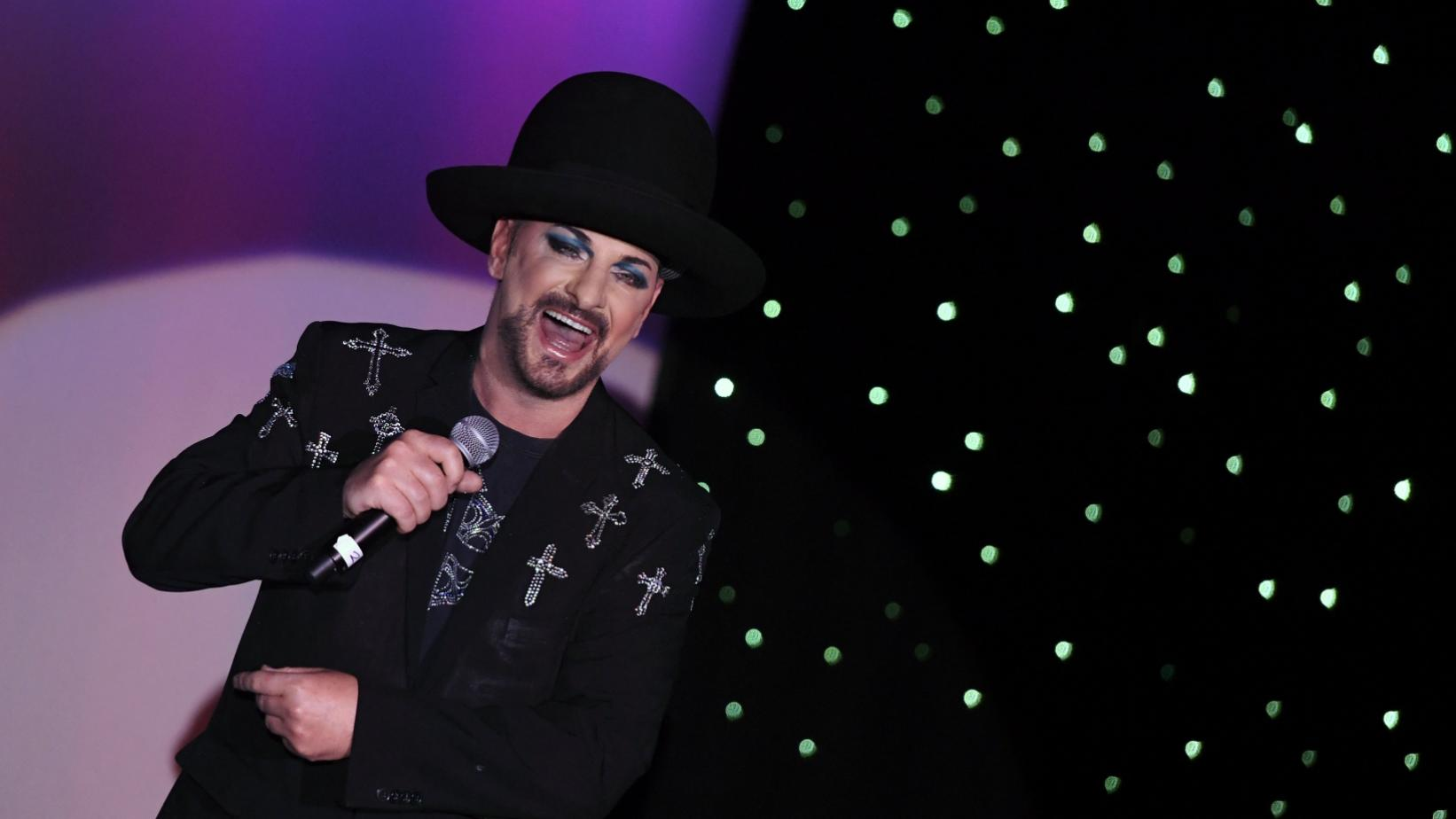 Boy George performs live in 2017