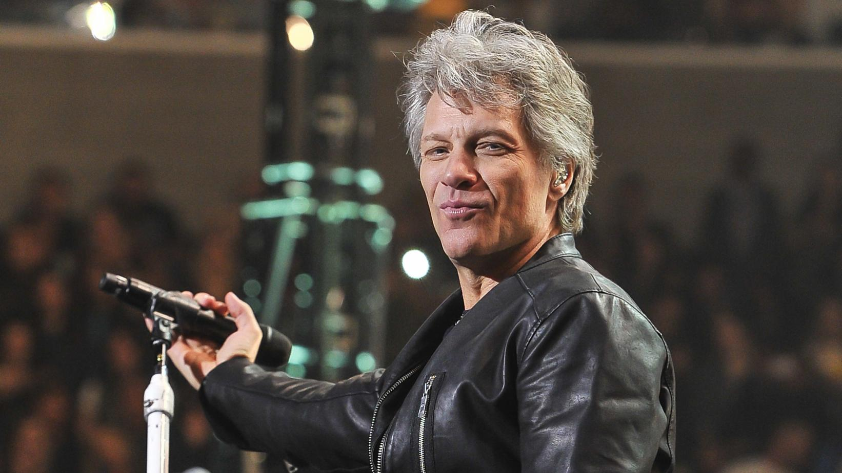 Jon Bon Jovi performs live in 2017