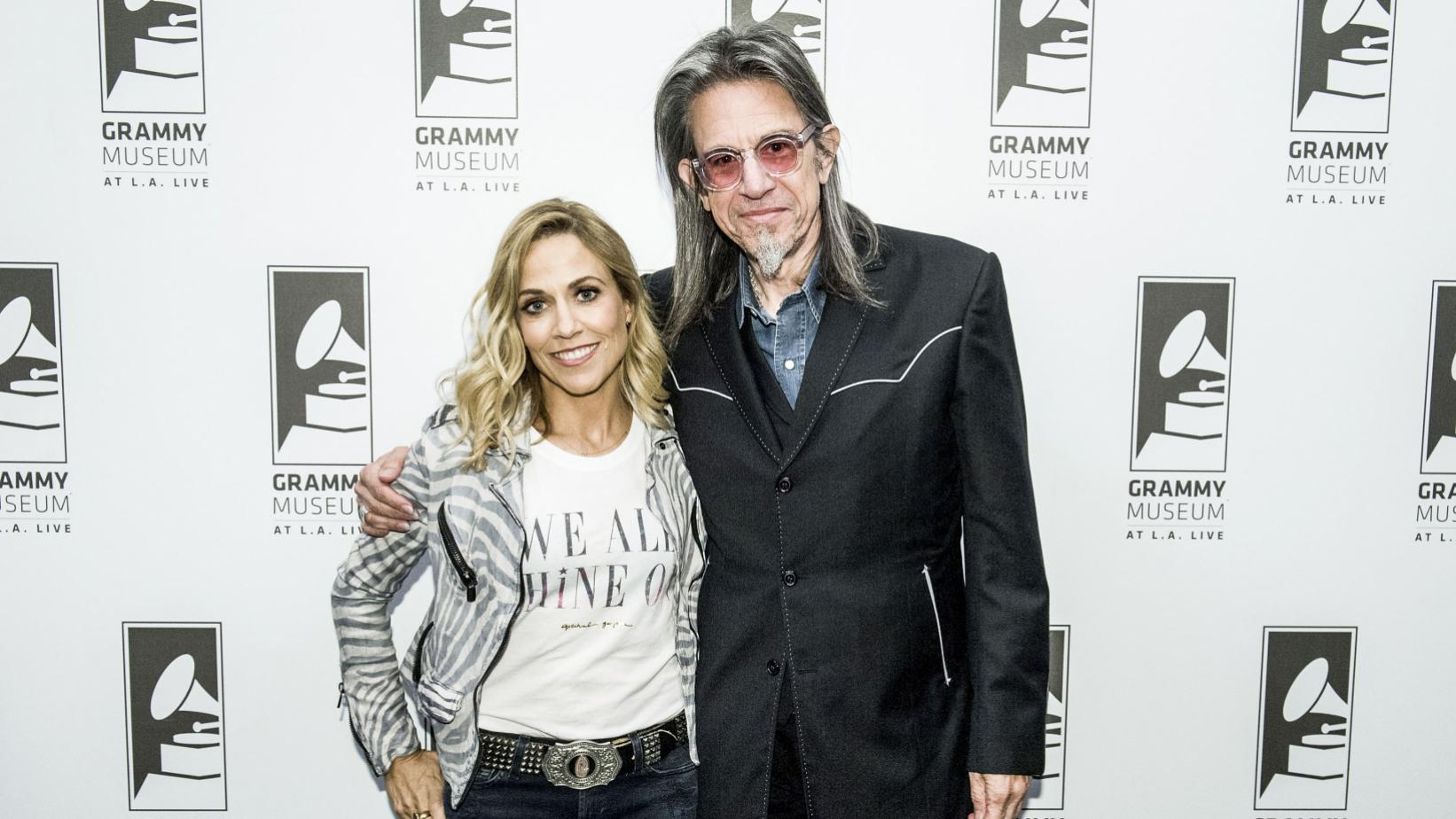 Sheryl Crow and Scott Goldman at the GRAMMY Museum