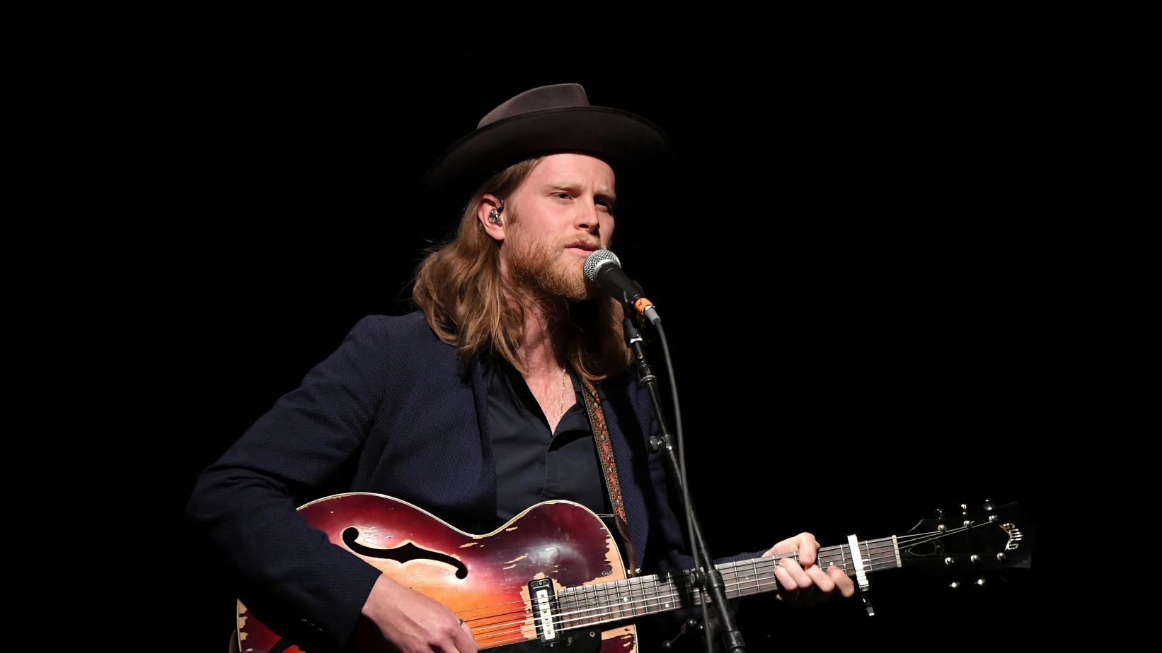 Wesley Schultz performs at the MusiCares MAP Fund benefit