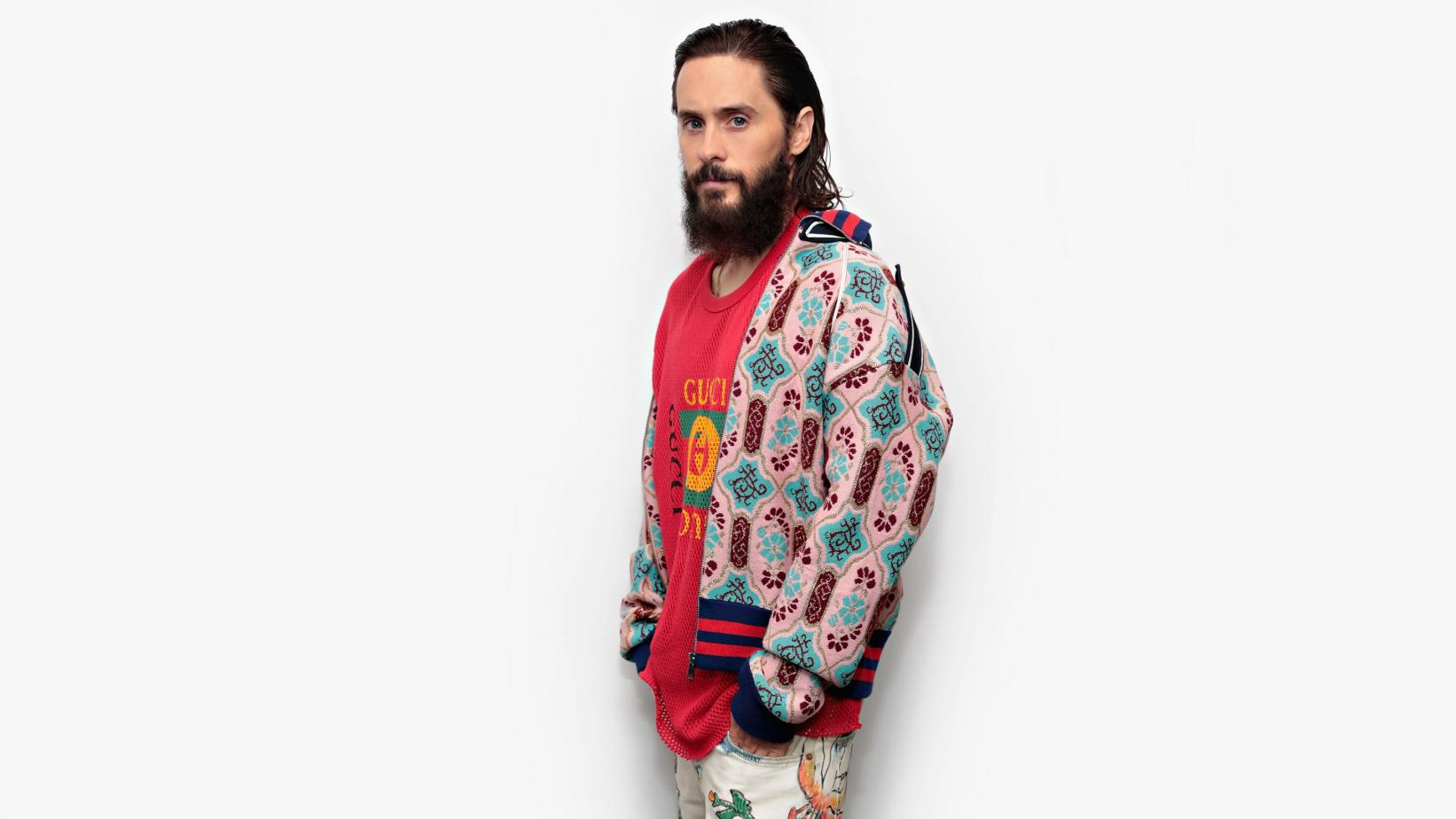 Jared Leto photographed in 2017