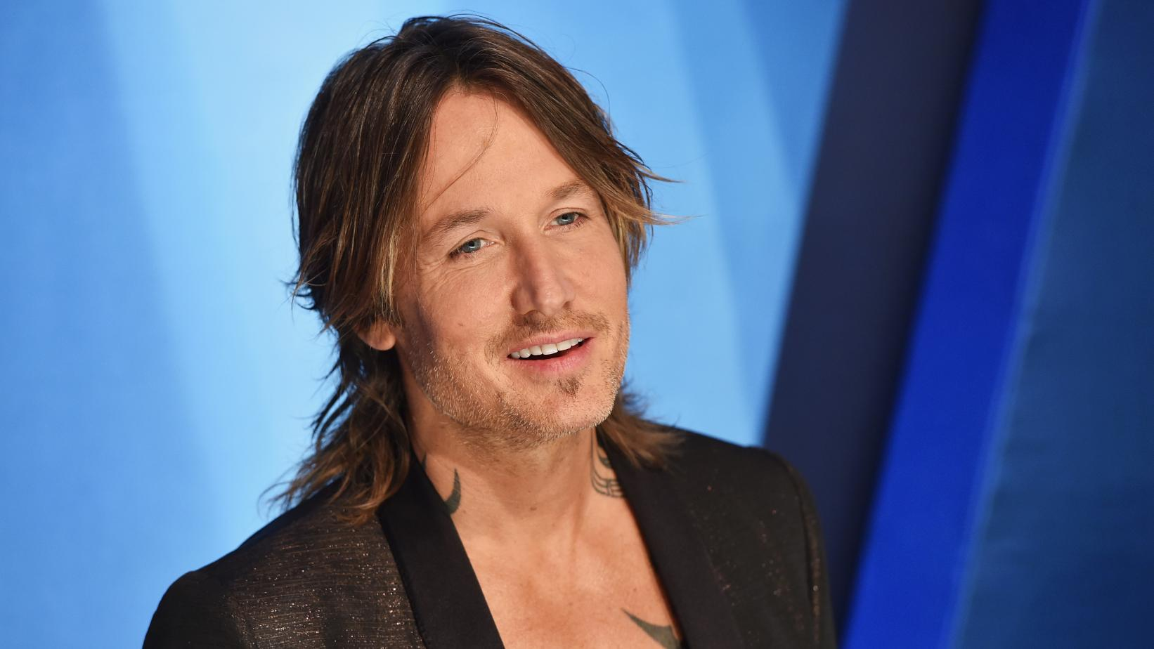 Keith Urban photographed in 2017
