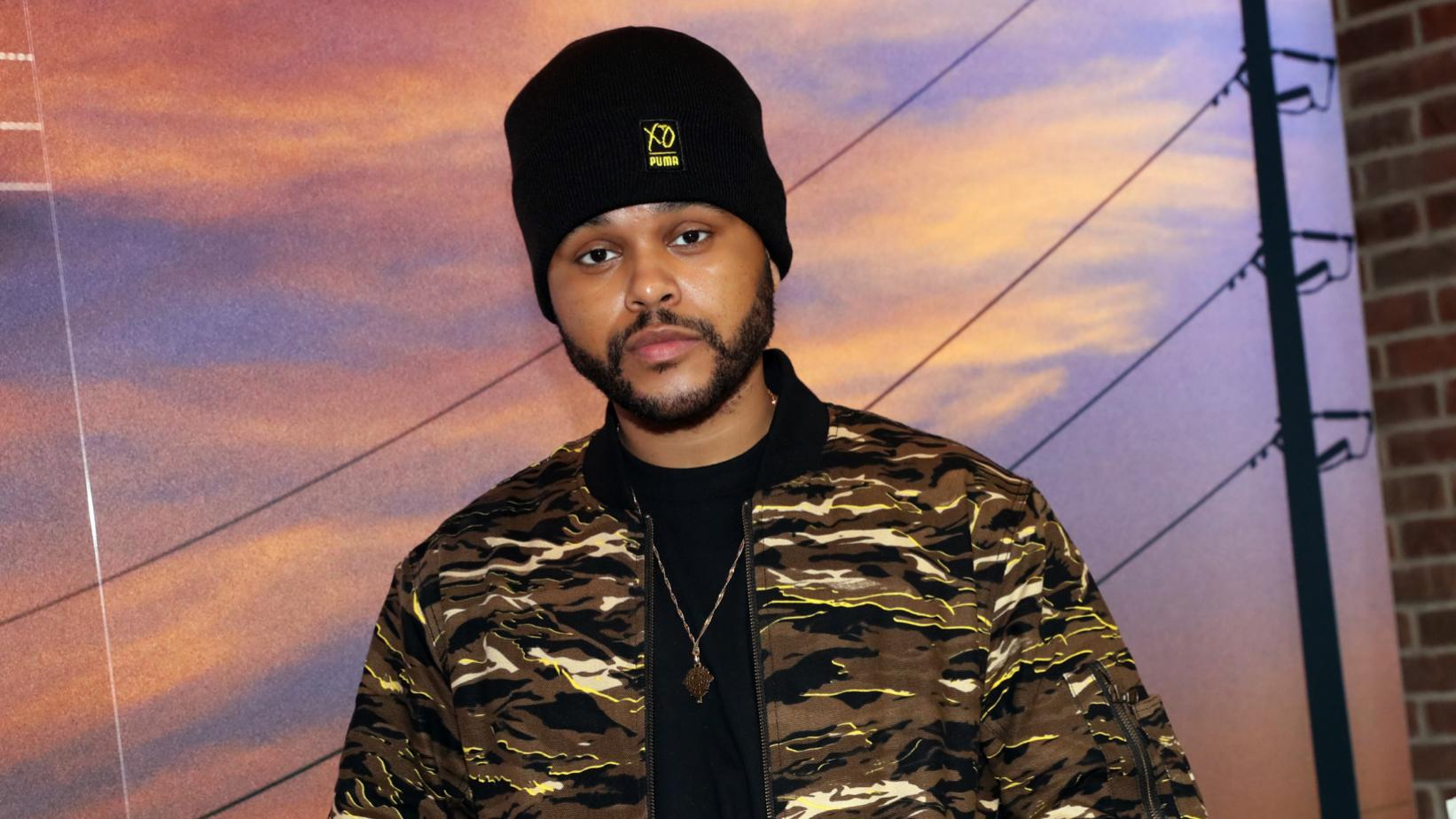 The Weeknd photographed in 2017