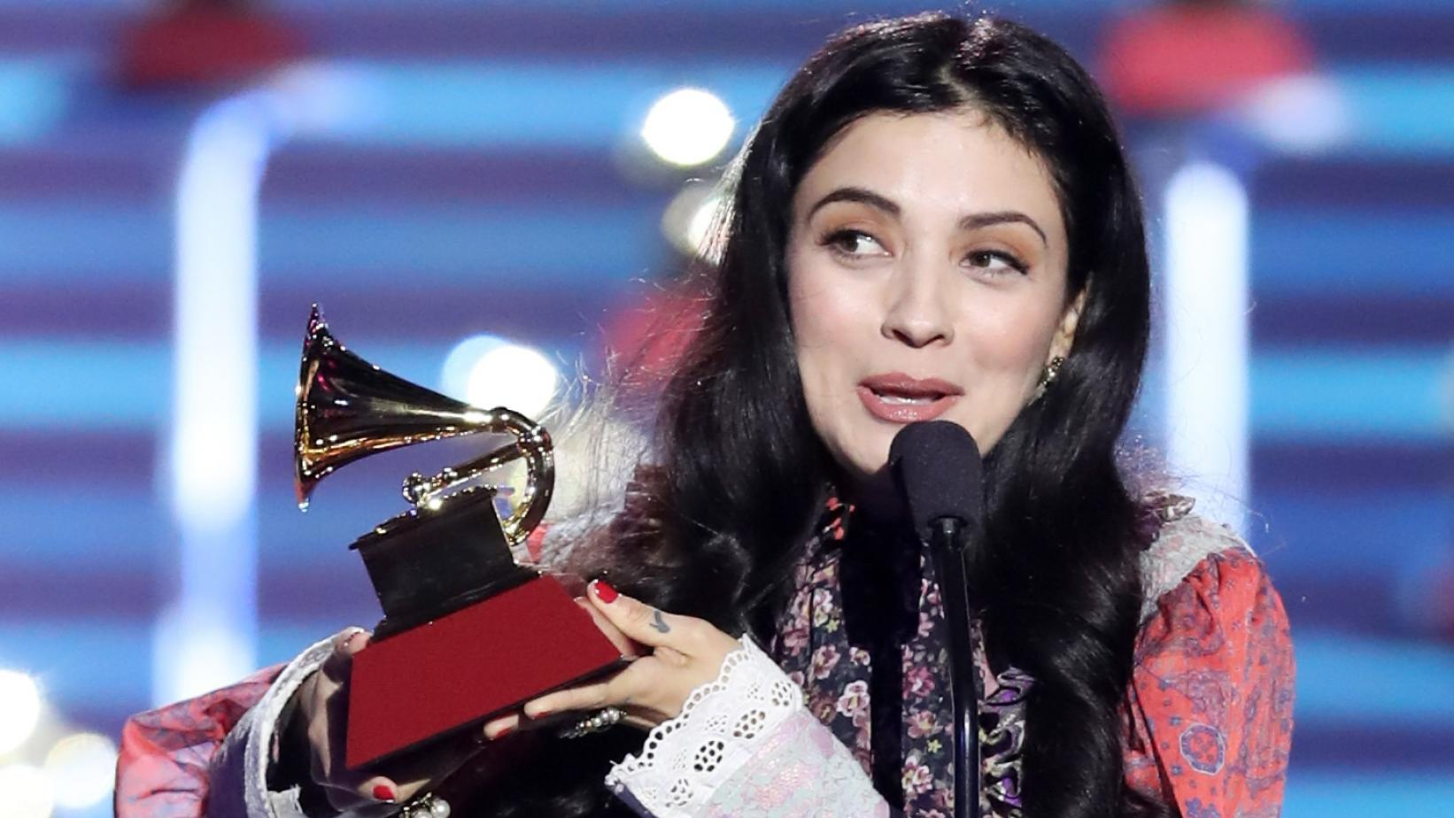 Mon Laferte wins Best Alternative Song Latin GRAMMY