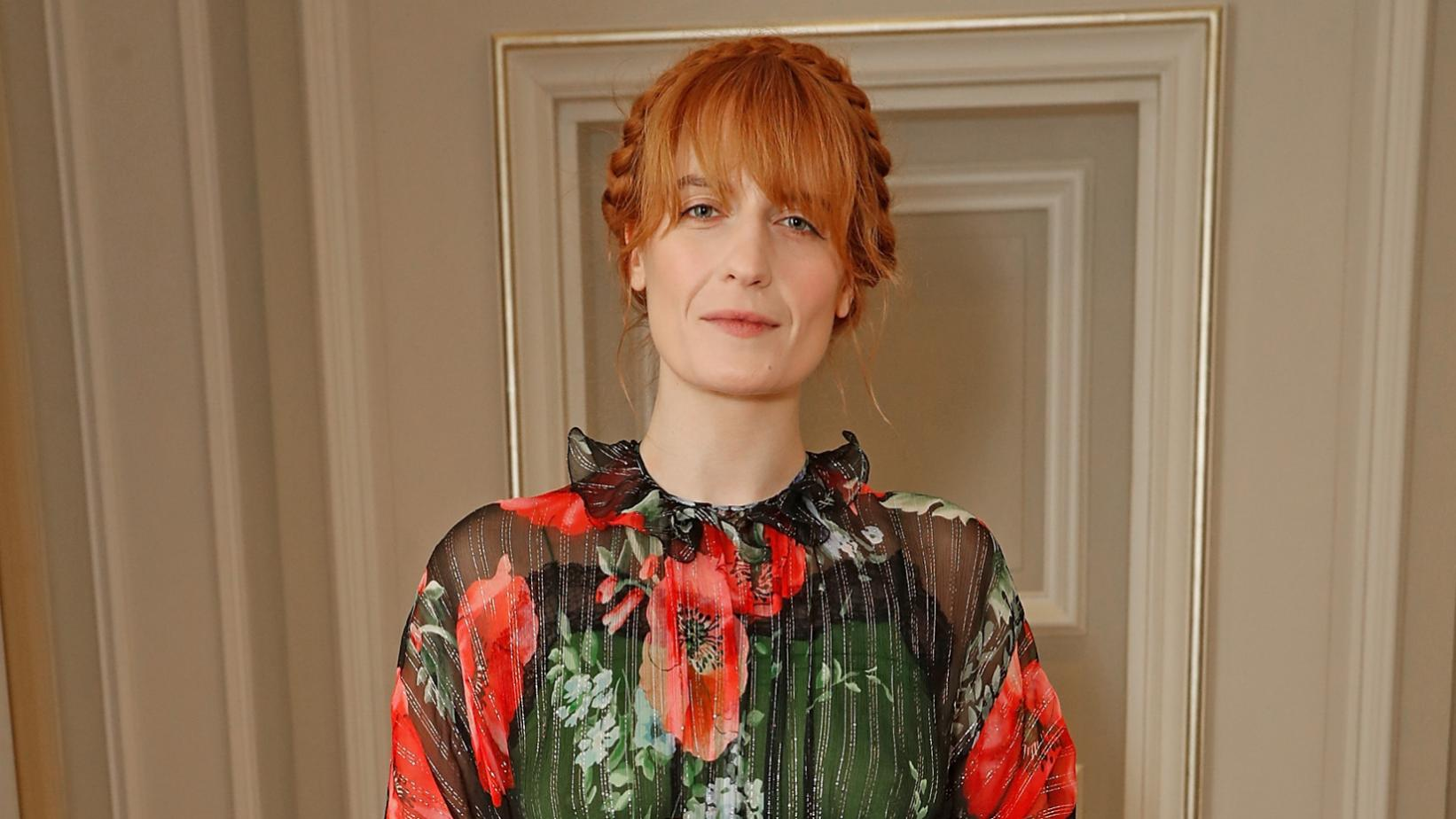 Florence Welch photographed in 2017