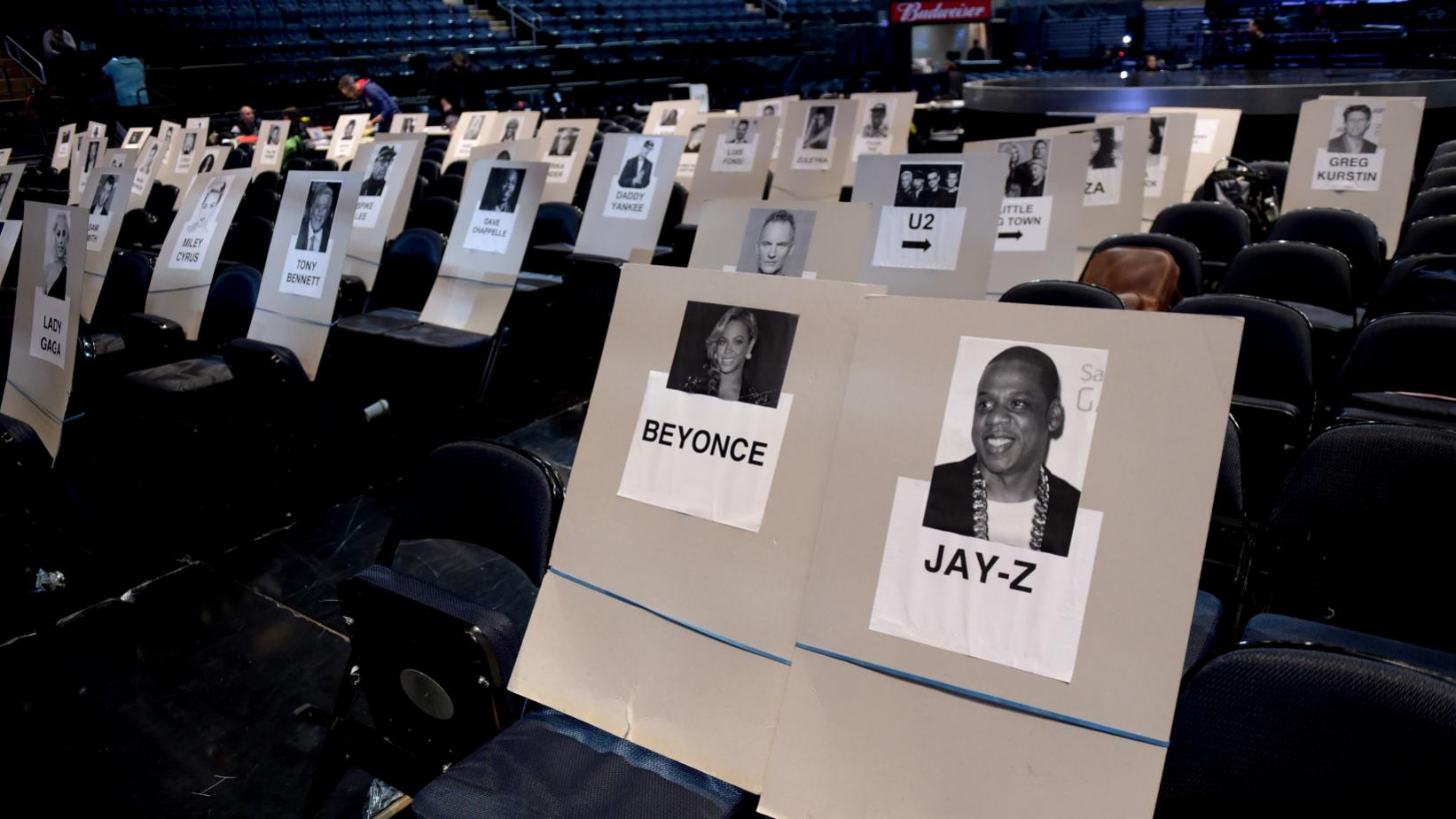 Seat placements at the 60th GRAMMY Awards