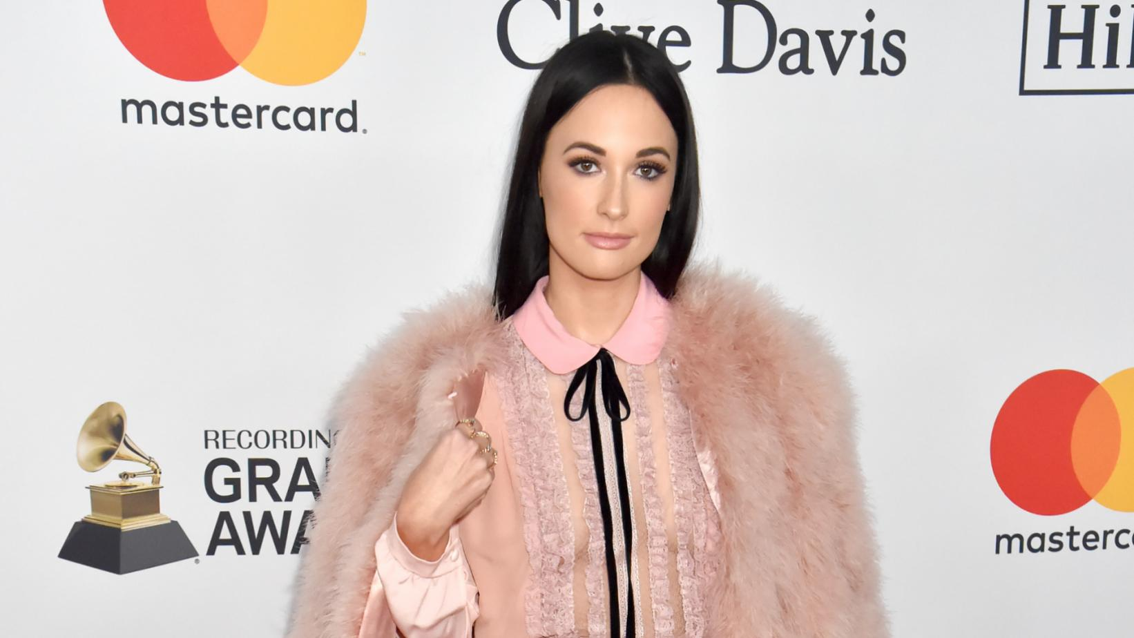 Kacey Musgraves at the 2018 Pre-GRAMMY Gala