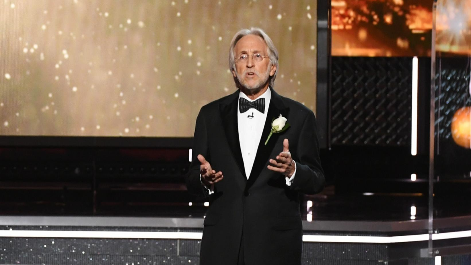 Neil Portnow at the 60th GRAMMY Awards