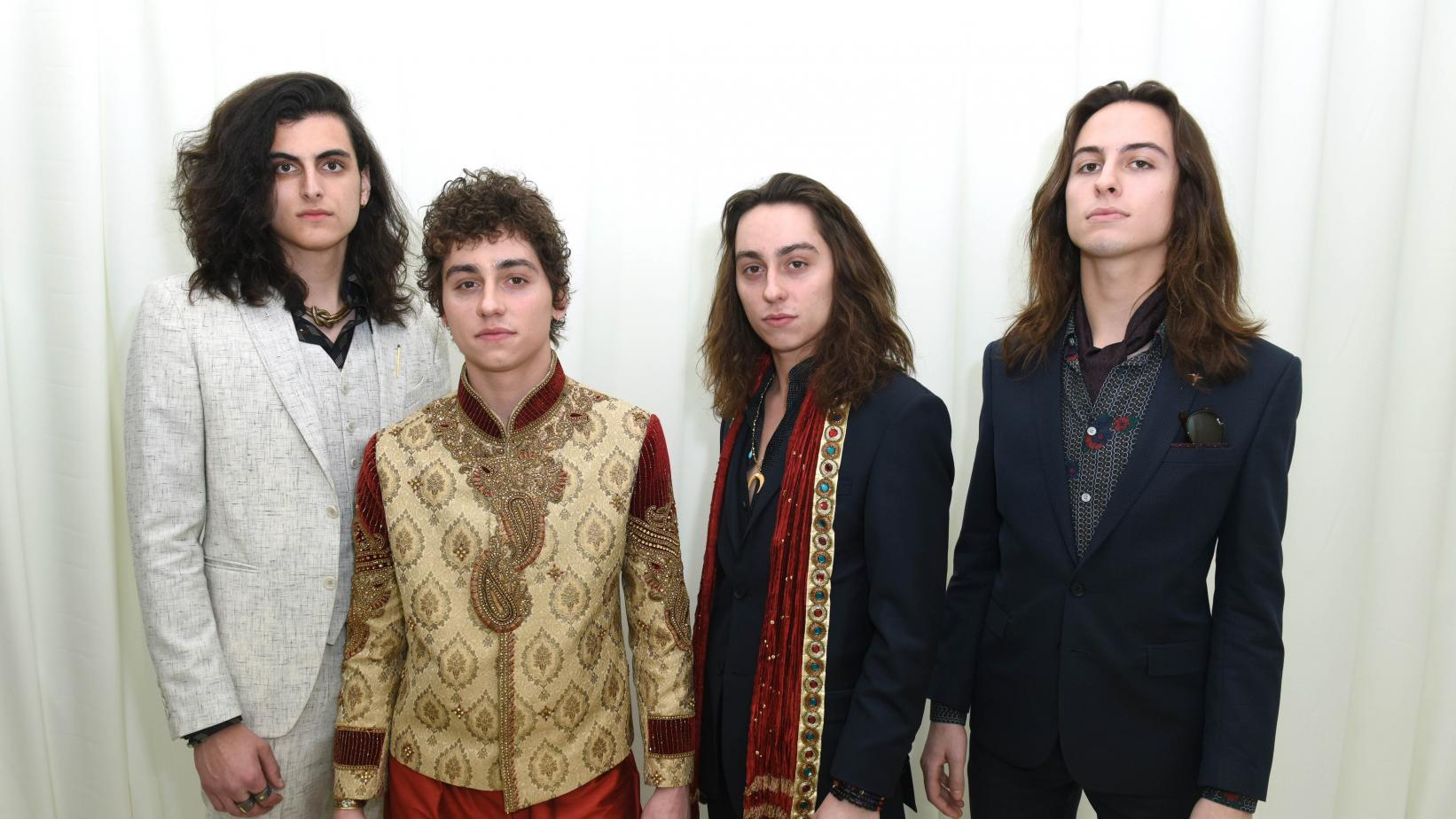 Greta Van Fleet photographed in 2018