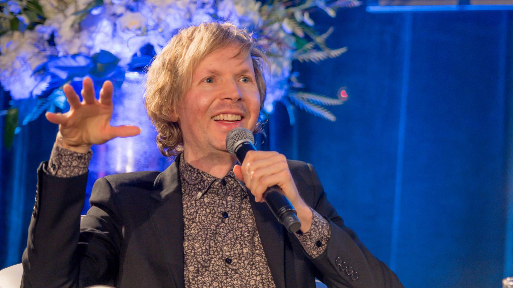 Beck photographed at Up Close & Personal With Beck