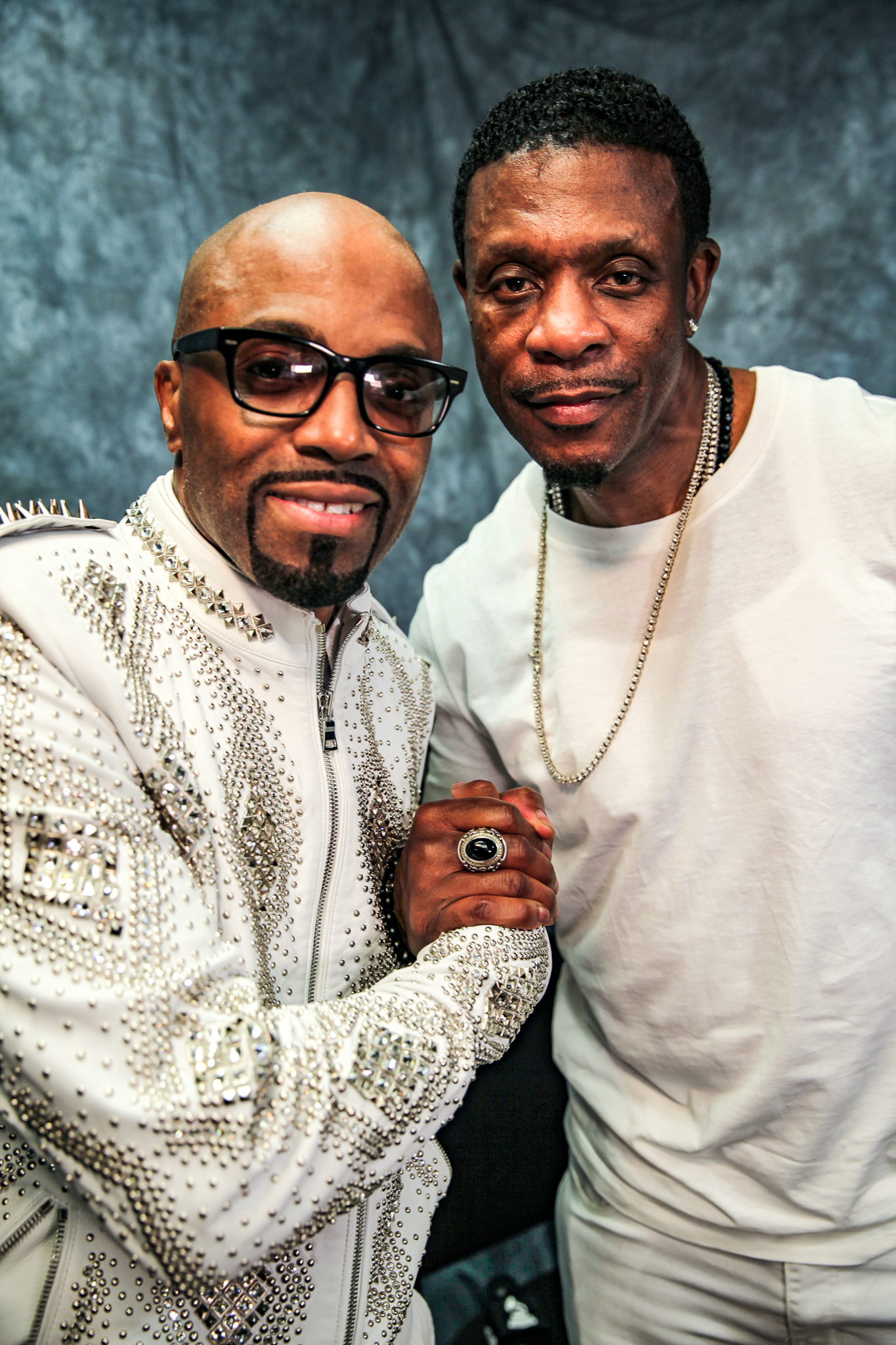 Teddy Riley and Keith Sweat At Essence 2018