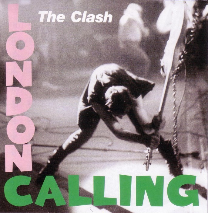The Clash - London Calling - Album Cover