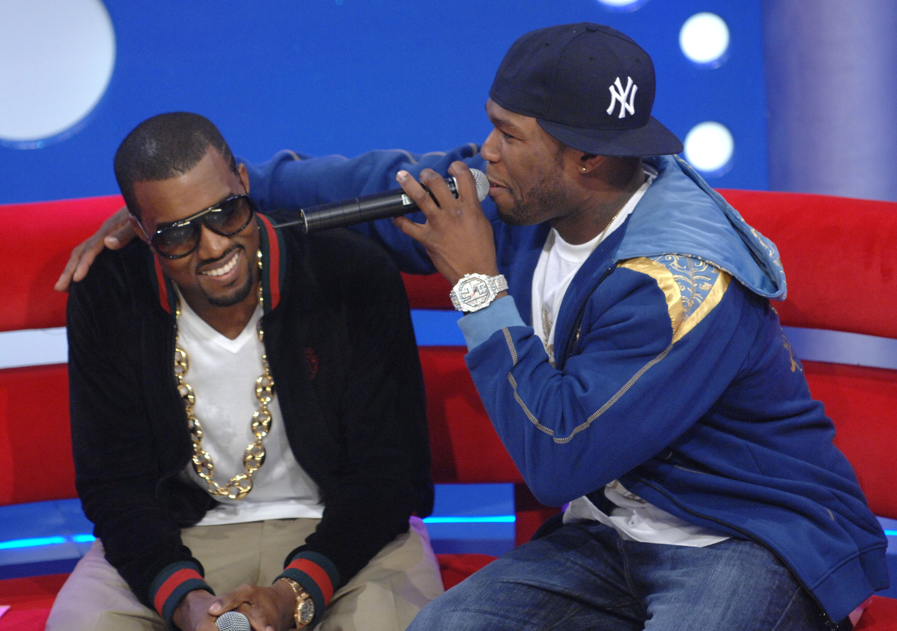 Kanye West and 50 Cent