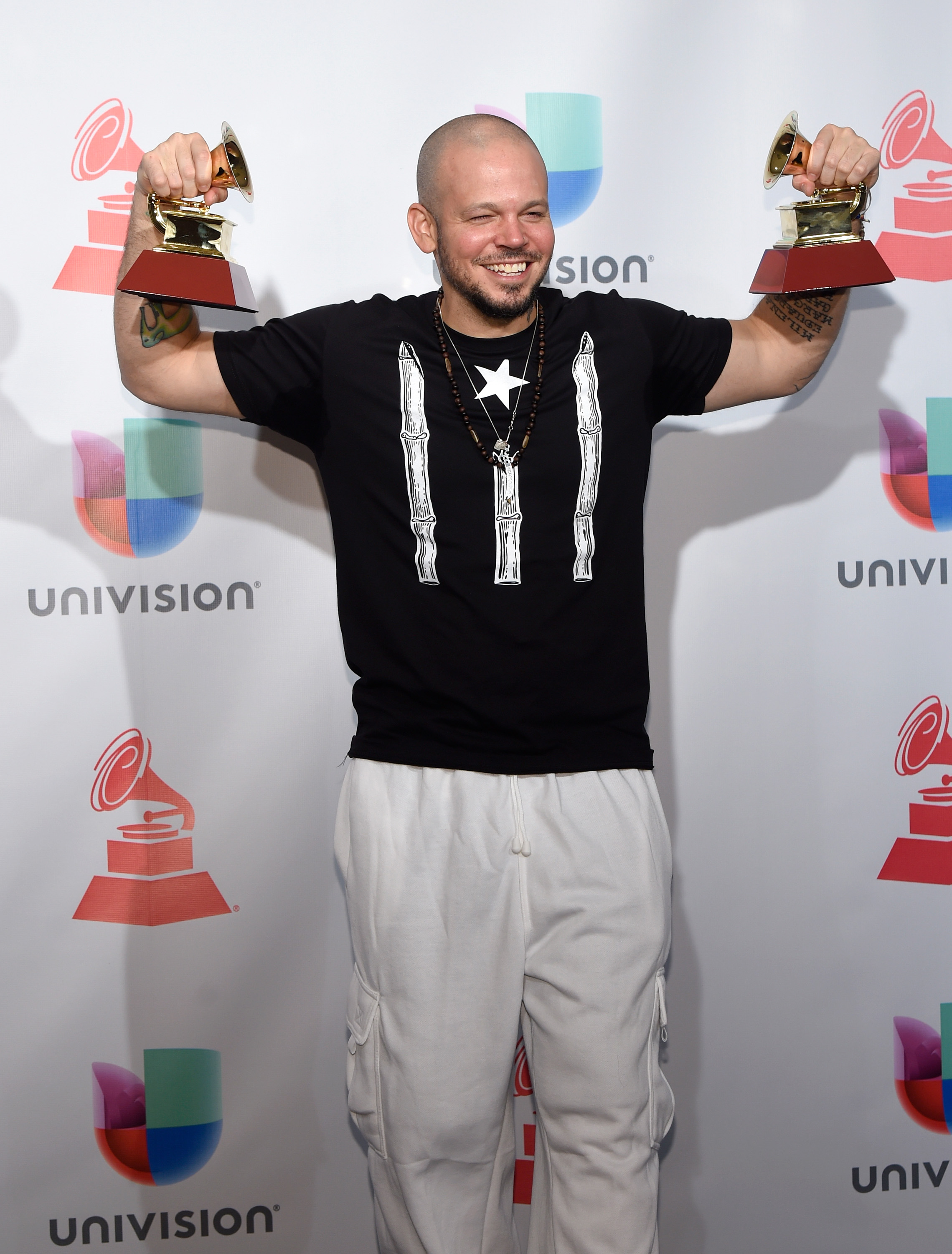 Residente at the 18th Latin GRAMMY Awards