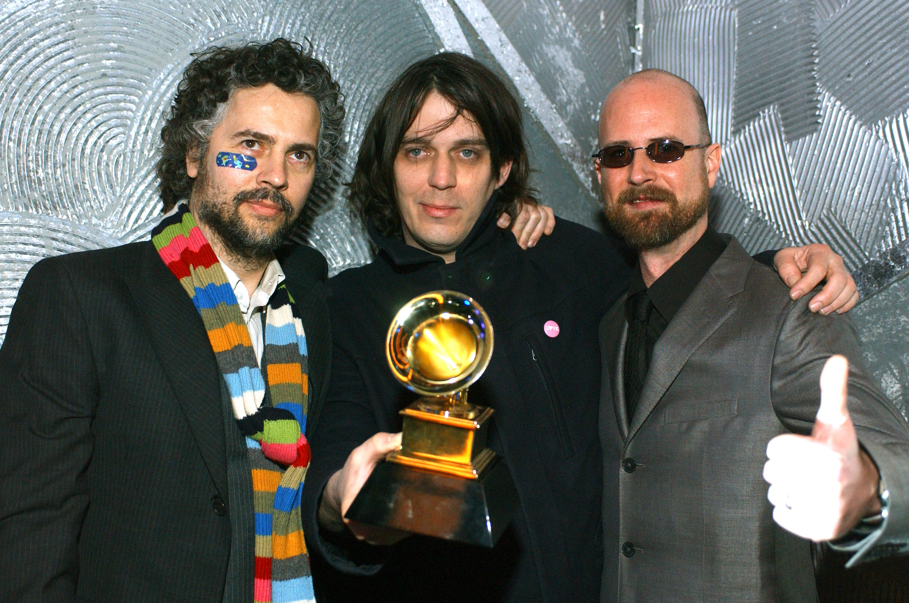 The Flaming Lips at the 45th GRAMMYs in 2003