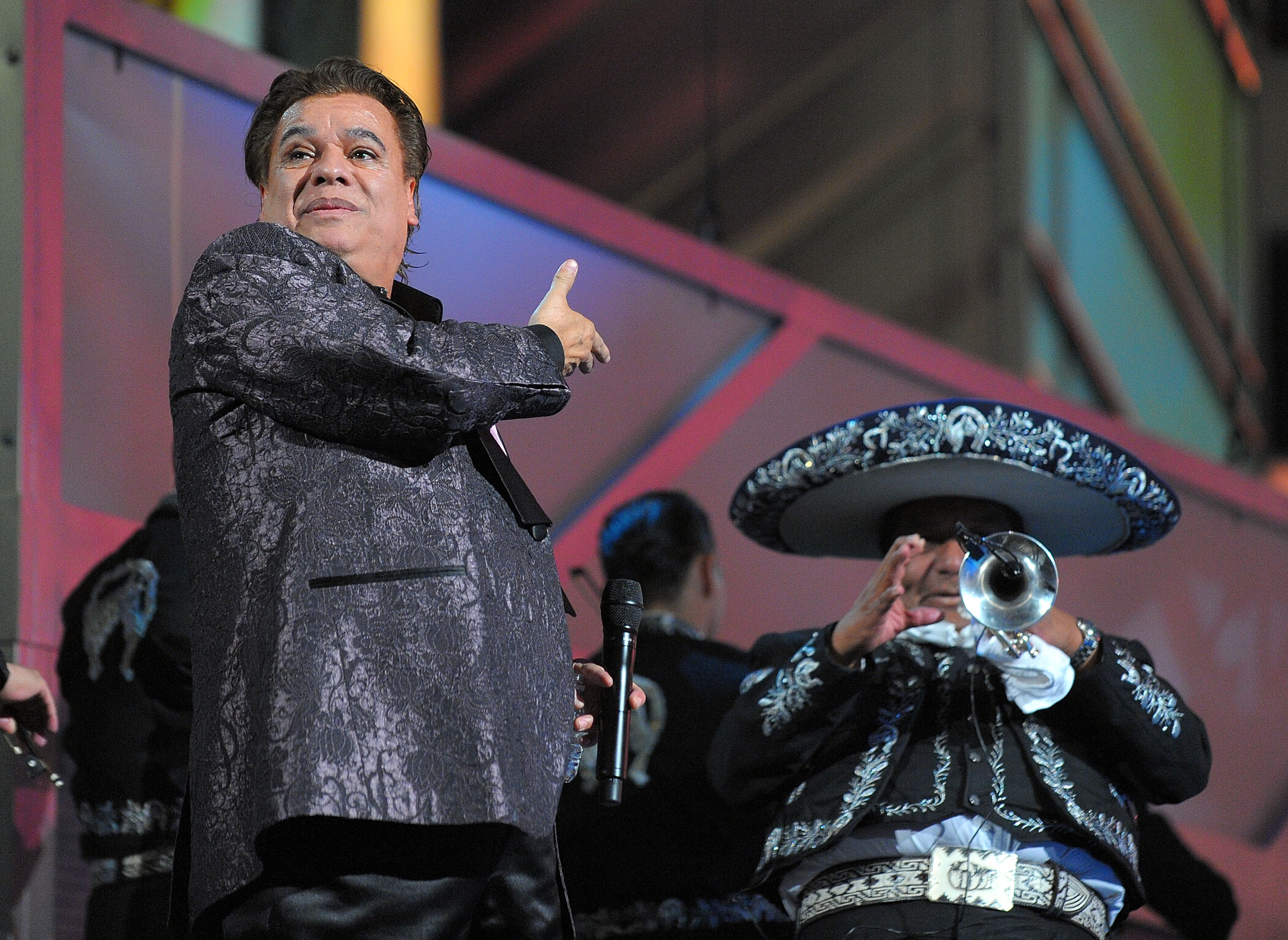 Juan Gabriel performs at the 10th Latin GRAMMYs in 2009